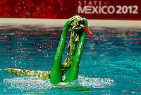 Opening Ceremony, Officials, Solo .event Day02 - Dec. 1st.7th FINA Synchronized Swimming  World Trophy.Mexico City MEX - Nov. 30th, Dec. 2nd, 2012.Photo G.Scala/Deepbluemedia/Inside .Nuoto Sincronizzato