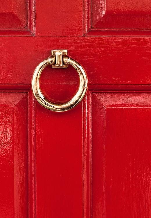Red Door 02 - Red door in Frith Street, Soho, London, England, UK