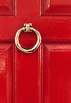 Red Door 02 - Red door in Frith Street, Soho, London, England, UK