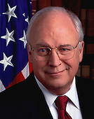 """Official portrait of United States Vice President Richard """"Dick"""" Cheney taken January 30, 2001.<br /> Credit: White House via CNP"""