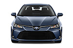 Car photography straight front view of a 2019 Toyota Corolla Dynamic 4 Door Sedan