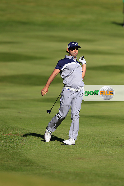 Fabrizio ZANOTTI (PAR) during round 1 of the 2015 BMW PGA Championship over the West Course at Wentworth, Virgina Water, London. 21/05/2015<br /> Picture Fran Caffrey, www.golffile.ie: