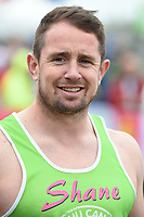 Shane Williamson at the start of the 2017 London Marathon on Blackheath Common, London, UK. <br /> 23 April  2017<br /> Picture: Steve Vas/Featureflash/SilverHub 0208 004 5359 sales@silverhubmedia.com
