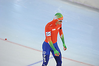 SCHAATSEN: HAMAR: Vikingskipet, 11-01-2014, Essent ISU European Championship Allround, 500m Men, Koen Verweij (NED), ©foto Martin de Jong
