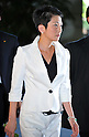September 2, 2011, Tokyo, Japan - Renho (single name), appointed as state minister in charge of Administrative Reforme, arrives at Kantei, prime ministers official residence, in Tokyo on Friday, September 2, 2011. Japans new Prime Minister Yoshihiko Noda has appointed his first cabinet ministers, picking up younger and relatively unknown members of his ruling Democratic Party of Japan into some key positions. (Photo by Natsuki Sakai/AFLO)