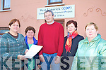 CELEBRATING: Staff and volunteers with West Limerick CDP in Abbeyfeale, which has had its contract renewed for 2010, l-r: Deirdre Barrett, Mary Healy, Jim O'Connor, Nora O'Connor, Madeline O'Connor.