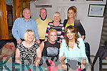 Frances Horgan, Monavalley Tralee, celebrating her 29th birthday with family at Bella Bia on Saturday. Pictured front l-r Angela Horgan, Frances Horgan, Tina O'Sullivan, Back l-r Michael McAuliffe, Frank Horgan, Anne O'Driscoll and Mairead Lynch