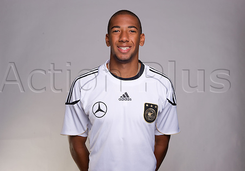 03 June 2010 Germany A Picture of German international player Jerome Boateng during a DFB photo call in Frankfurt Main, Germany.