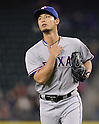 Yu Darvish (Rangers),.APRIL 12, 2013 - MLB :.Pitcher Yu Darvish of the Texas Rangers during the baseball game against the Seattle Mariners at Safeco Field in Seattle, Washington, United States. (Photo by AFLO)