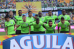 Atlético Nacional igualó como local 0-0 ante Deportivo Cali. Fecha 19 Liga Águila I-2017.