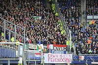 VOETBAL: HEERENVEEN: Abe Lenstra Stadion 18-10-2015, SC Heerenveen - Feyenoord, uitslag 2-5, Feyenoord publiek, ©foto Martin de Jong