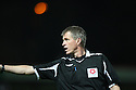 Referee Steve Creighton during the  Blue Square Premier match between Stevenage Borough and Oxford United at the Lamex Stadium, Broadhall Way, Stevenage on Tuesday 30th March, 2010..© Kevin Coleman 2010 .