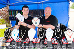 Pictured at the Duagh parish festival on Sunday was: Michael Broderick, Michael Broderick Snr of Midos Touch.
