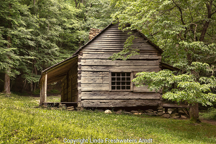 "Noah ""Bud"" Ogle Place in the Great Smoky Mountains National Park"