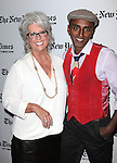 Paula Dean and Marcus Samuelsson backstage at theTimesTalks with Paula Dean and Marcus Samuelsson at the Times Center on October 13, 2012 in New York City.