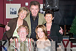 SINGING: Singing in the New Year at O'Donnell's Bar and Restaurant, Mounthawk, Tralee, on Sunday night. Front l-r: Mary O'Brien and Marianne Wall. Back l-r: Ann Wall, Tom and Marie O'Brien..