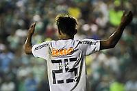 ATENÇÃO EDITOR: FOTO EMBARGADA PARA VEÍCULOS INTERNACIONAIS BARUERI,SP,22 JANEIRO 2013 - COPA SÃO PAULO JUNIORES - PALMEIRAS x SANTOS - Neilton jogador do Santos comemora gol  durante partida Palmeiras x Santos  válido pela semi finals da Copa São Paulo Juniores no Estádio Arena Barueri na noite desta terça - feira.(FOTO: ALE VIANNA -BRAZIL PHOTO PRESS).