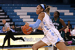 09 November 2015: North Carolina's Stephanie Watts. The University of North Carolina Tar Heels hosted the University of Mount Olive Trojans at Carmichael Arena in Chapel Hill, North Carolina in a 2015-16 NCAA Women's Basketball exhibition game. UNC won the game 99-45.