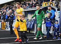 Preston's Tom Clarke leads out his team<br /> <br /> Photographer Jon Hobley/CameraSport<br /> <br /> The EFL Sky Bet Championship - Millwall v Preston North End - Saturday 13th January 2018 - The Den - London<br /> <br /> World Copyright &copy; 2018 CameraSport. All rights reserved. 43 Linden Ave. Countesthorpe. Leicester. England. LE8 5PG - Tel: +44 (0) 116 277 4147 - admin@camerasport.com - www.camerasport.com