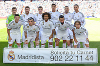 Real Madrid team group