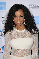 "05 June 2016 - Hollywood, California - Elise Neal. Arrivals for the 2016 LA Greek Film Festival Premiere Of ""Worlds Apart"" held at The Egyptian Theater. Photo Credit: Birdie Thompson/AdMedia"