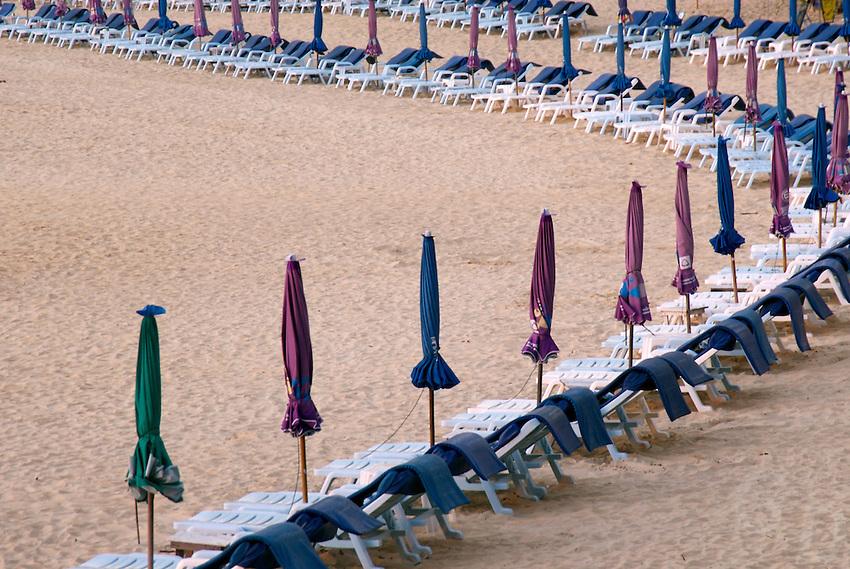 Folded Umbrellas