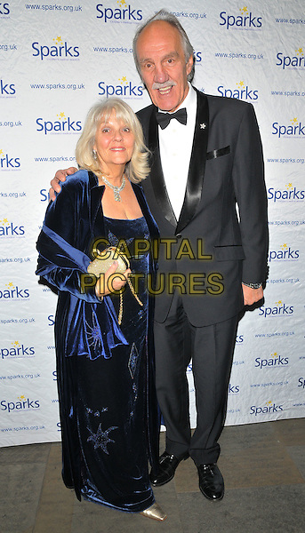 Kristine Uttley and Roger Uttley at the Sparks Winter Ball, The Roundhouse, Chalk Farm Road, London, England, UK, on Wednesday 30 November 2016. <br /> CAP/CAN<br /> &copy;CAN/Capital Pictures