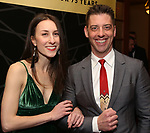 "Christian Borle and guest attend the New York City Center Celebrates 75 Years with a Gala Performance of ""A Chorus Line"" at the City Center on November 14, 2018 in New York City."