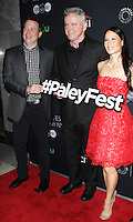 NEW YORK, NY- OCTOBER 08: Rob Doherty, Aidan Quinn, Lucy Liu at PaleyFest New York 2016 presents Elementary at the Paley Center for Media in New York.October 08, 2016. Credit: RW/MediaPunch