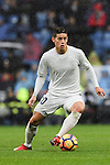 James Rodriguez of Real Madrid in action during the La Liga match between Real Madrid and Real Sporting de Gijon at the Santiago Bernabeu Stadium on 26 November 2016 in Madrid, Spain. Photo by Diego Gonzalez Souto / Power Sport Images