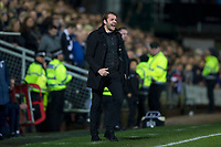 27th December 2019; Dens Park, Dundee, Scotland; Scottish Championship Football, Dundee Football Club versus Dundee United; Dundee United manager Robbie Neilson  - Editorial Use