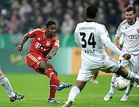 Fussball DFB Pokal:  Saison   2011/2012  2. Runde  26.10.2011 FC Bayern Muenchen - FC Ingolstadt 04 Tor zum 2:0  David Alaba (FC Bayern Muenchen)