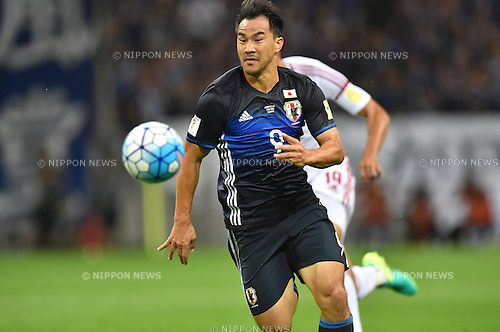 Shinji Okazaki (JPN),<br /> SEPTEMBER 1, 2016 - Football / Soccer :<br /> FIFA World Cup Russia 2018 Asian Qualifiers Final Round Group B match between Japan 1-2 United Arab Emirates at Saitama Stadium 2002 in Saitama, Japan. (Photo by AFLO)