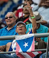 Aficion, durante el partido de beisbol de la Serie del Caribe con el encuentro entre los Alazanes de Gamma de Cuba contra los Criollos de Caguas de Puerto Rico en estadio de los Charros de Jalisco en Guadalajara, México, Martes 6 feb 2018. (Foto: /Luis Gutierrez)