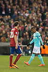 Atletico de Madrid's Juanfran Torres and PSV Eindhoven's Joshua Brenet  during UEFA Champions League match. March 15,2016. (ALTERPHOTOS/Borja B.Hojas)