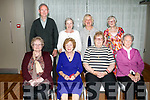 Enjoying Ardfert Senior Citizens dinner at Ballyroe Heights Hotel on Tuesday were front l-r Nora O'Sullivan, Alice Tiernan, Bridie Dowling, Joan Moriarty, Back Christy O'Sullivan, Marry Jeffers, Trisha Jeffers and Joan Griffin