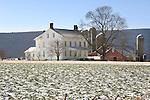 Farmhouse in Winter, Union County, Pennsylvania