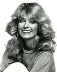 Farrah Fawcett, actress. 1977
