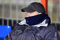 Cheltenham Town manager Gary Johnson during the pre-match warm-up<br /> <br /> Photographer Andrew Vaughan/CameraSport<br /> <br /> The EFL Sky Bet League Two - Cambridge United v Lincoln City - Friday 9th February 2018 - Abbey Stadium - Cambridge<br /> <br /> World Copyright &copy; 2018 CameraSport. All rights reserved. 43 Linden Ave. Countesthorpe. Leicester. England. LE8 5PG - Tel: +44 (0) 116 277 4147 - admin@camerasport.com - www.camerasport.com
