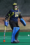 15 November 2015: Michigan's Sam Swenson (ENG). The University of North Carolina Tar Heels played the University of Michigan Wolverines at Francis E. Henry Stadium in Chapel Hill, North Carolina in a 2015 NCAA Division I Field Hockey Tournament Quarterfinal match. UNC won the game 1-0.