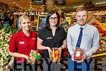 Garveys Supervalu Tralee. <br /> L to r: Joy Murphy, Sandra Lynch (Store Manager) and Craig Shanahan (Asst Manager).