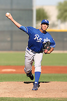 Willian Avinazar - Kansas City Royals, 2009 Instructional League.Photo by:  Bill Mitchell/Four Seam Images..