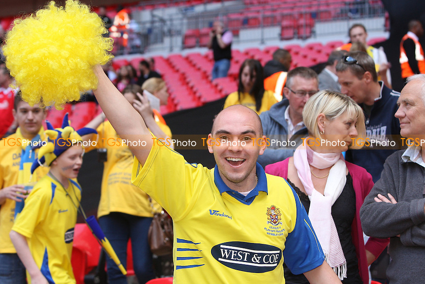 Dagenham & Redbridge defeat Rotherham to win promotion to League One - Dagenham & Redbridge vs Rotherham United - Coca Cola League Two Play-Off Final at Wembley Stadium -  30/05/10 - MANDATORY CREDIT: Gavin Ellis/TGSPHOTO - Self billing applies where appropriate - Tel: 0845 094 6026