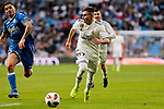 Real Madrid's Fran Garcia during Copa del Rey match between Real Madrid and UD Melilla at Santiago Bernabeu Stadium in Madrid, Spain. December 06, 2018. (ALTERPHOTOS/A. Perez Meca)