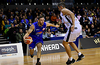 Saints&rsquo; Nick Kay in action during the NBL - Cigna Saints v Bay Hawks at TSB Bank Arena, Wellington, New Zealand on Friday 12 April 2019. <br /> Photo by Masanori Udagawa. <br /> www.photowellington.photoshelter.com