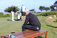 Graeme McDowell (NIR) waits on the 7th tee of Monterey Peninsula CC during Saturday's Round 3 of the 2018 AT&amp;T Pebble Beach Pro-Am, held over 3 courses Pebble Beach, Spyglass Hill and Monterey, California, USA. 10th February 2018.<br /> Picture: Eoin Clarke | Golffile<br /> <br /> <br /> All photos usage must carry mandatory copyright credit (&copy; Golffile | Eoin Clarke)