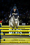 Daniel Deusser of Germany riding Cornet D'Amour competes in the Longines Grand Prix during the Longines Masters of Hong Kong at AsiaWorld-Expo on 11 February 2018, in Hong Kong, Hong Kong. Photo by Ian Walton / Power Sport Images