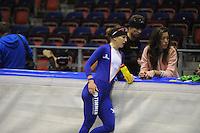 SCHAATSEN: HEERENVEEN: 16-06-2014, IJsstadion Thialf, Zomerijs training, Ireen Wüst en Naomi van As, ©foto Martin de Jong