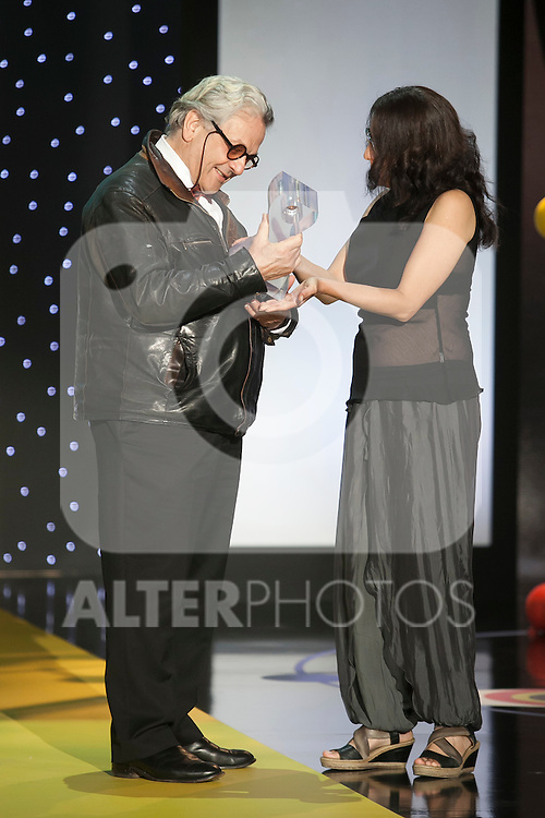 George Miller receives the Donostia Best Film award during the 63rd Donostia Zinemaldia opening ceremony (San Sebastian International Film Festival) in San Sebastian, Spain. September 18, 2015. (ALTERPHOTOS/Victor Blanco)