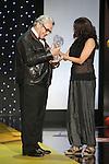 George Miller receives the Donostia Best Film award during the 63rd Donostia Zinemaldia opening ceremony (San Sebastian International Film Festival) in San Sebastian, Spain. September 18, 2015. (ALTERPHOTOS/Victor Blanco)